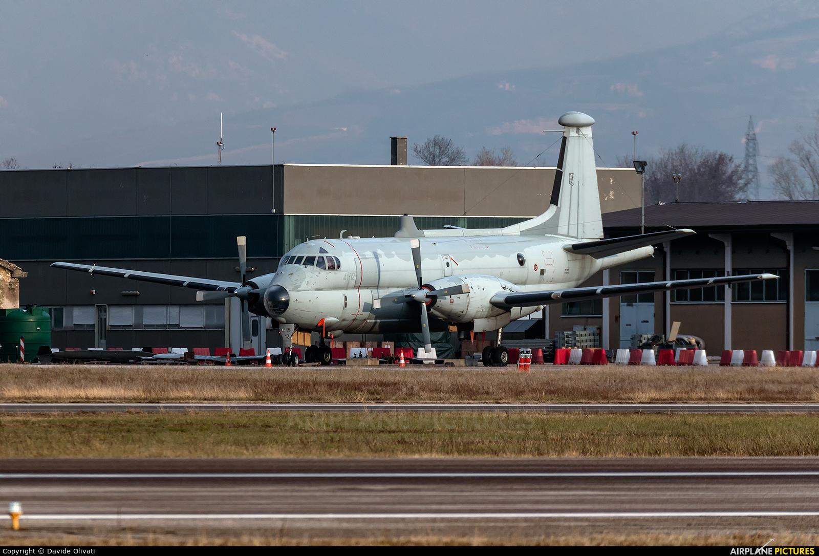 Italy - Air Force MM40125 aircraft at Verona - Villafranca