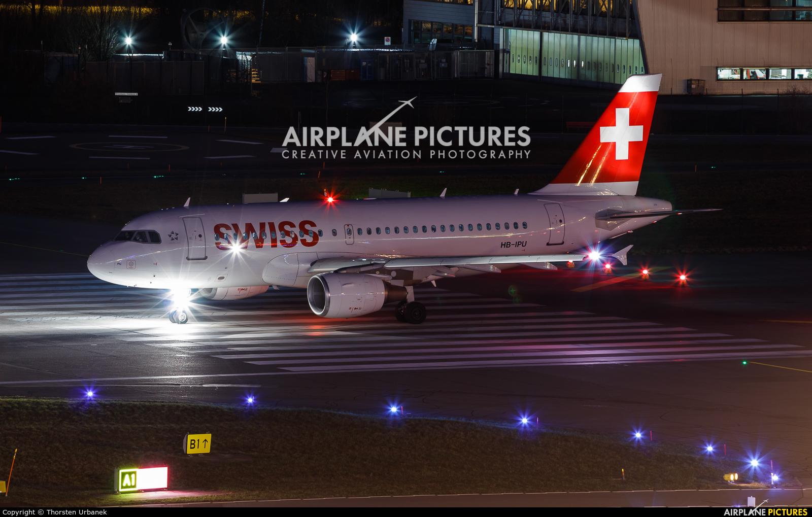 Swiss HB-IPU aircraft at Zurich