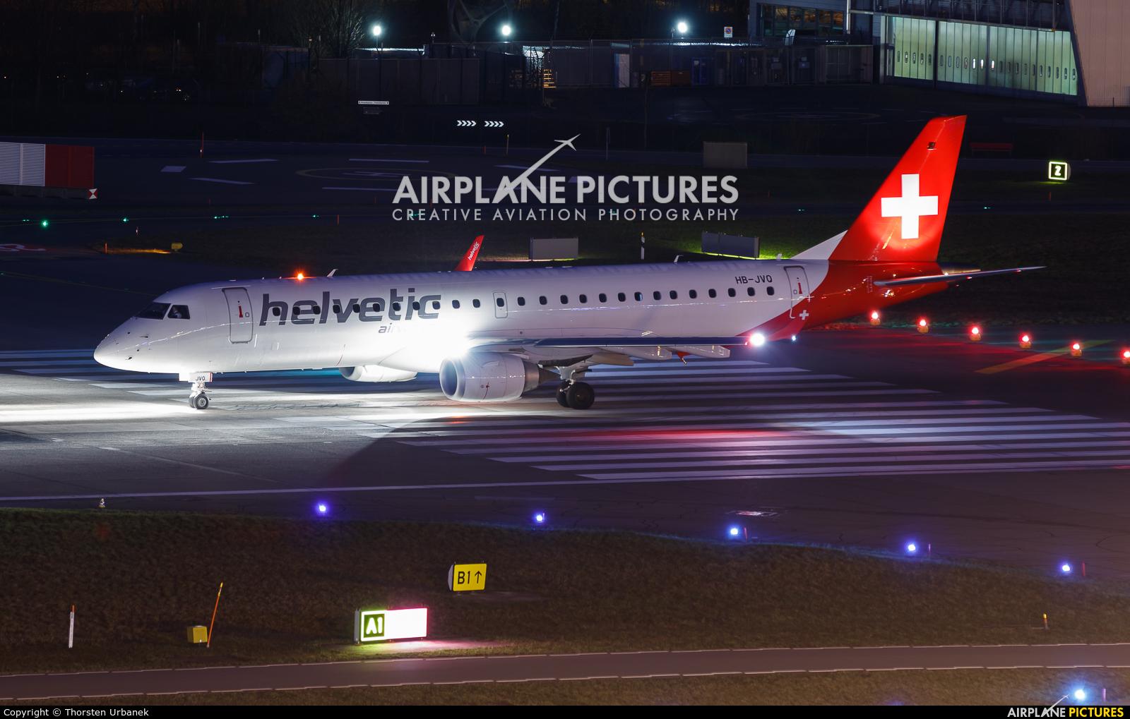 Helvetic Airways HB-JVQ aircraft at Zurich