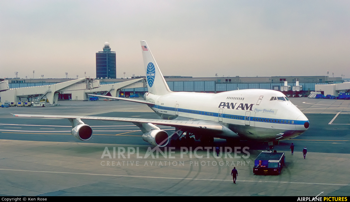 Pan Am N531PA aircraft at New York - John F. Kennedy Intl