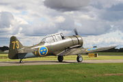 SE-FVU - Swedish Air Force Historic Flight North American Harvard/Texan (AT-6, 16, SNJ series) aircraft