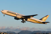 9V-SQM - Singapore Airlines Boeing 777-200ER aircraft