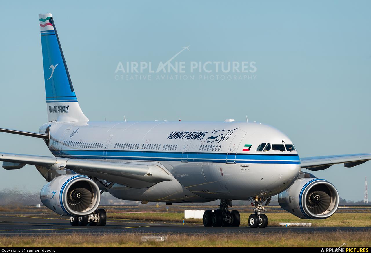 Kuwait Airways 9K-APA aircraft at Paris - Charles de Gaulle