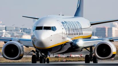 EI-FZD - Ryanair Boeing 737-800