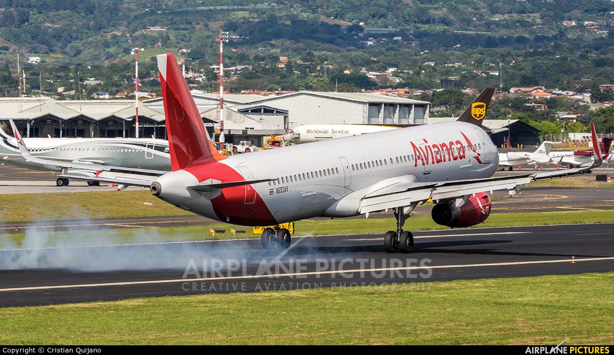 Avianca N693AV aircraft at San Jose - Juan Santamaría Intl