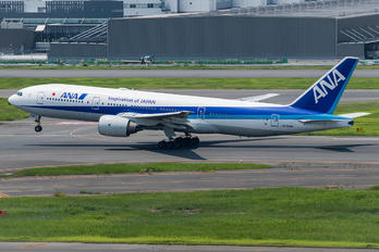 JA708A - ANA - All Nippon Airways Boeing 777-200ER
