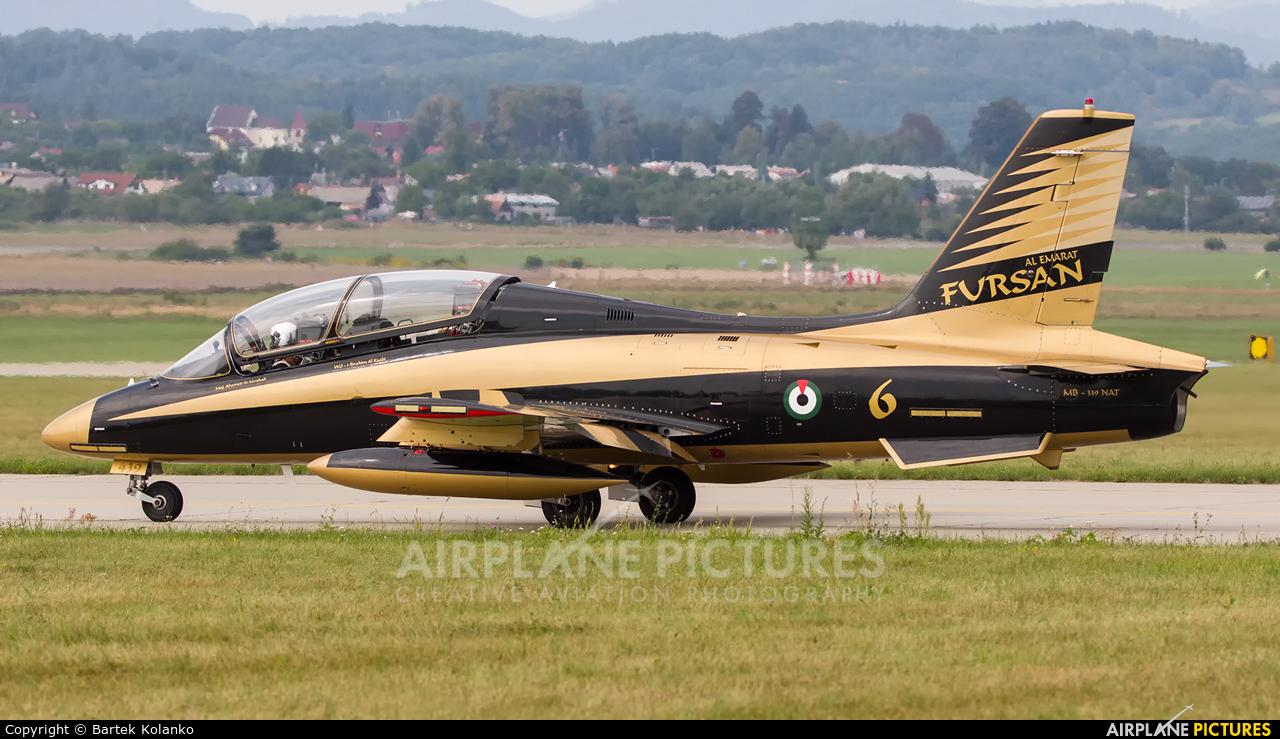 "United Arab Emirates - Air Force ""Al Fursan"" 439 aircraft at Sliač"