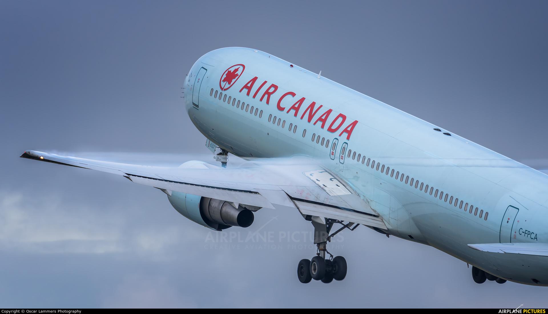 Air Canada C-FPCA aircraft at Amsterdam - Schiphol