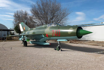 740 - Germany - Air Force Mikoyan-Gurevich MiG-21PFM