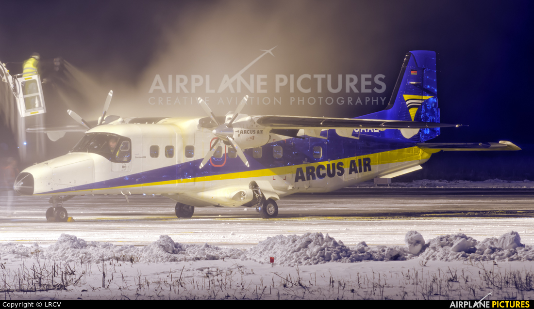 Arcus Air D-CAAL aircraft at Craiova