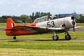 ZK-JJA - Private North American Harvard/Texan (AT-6, 16, SNJ series)