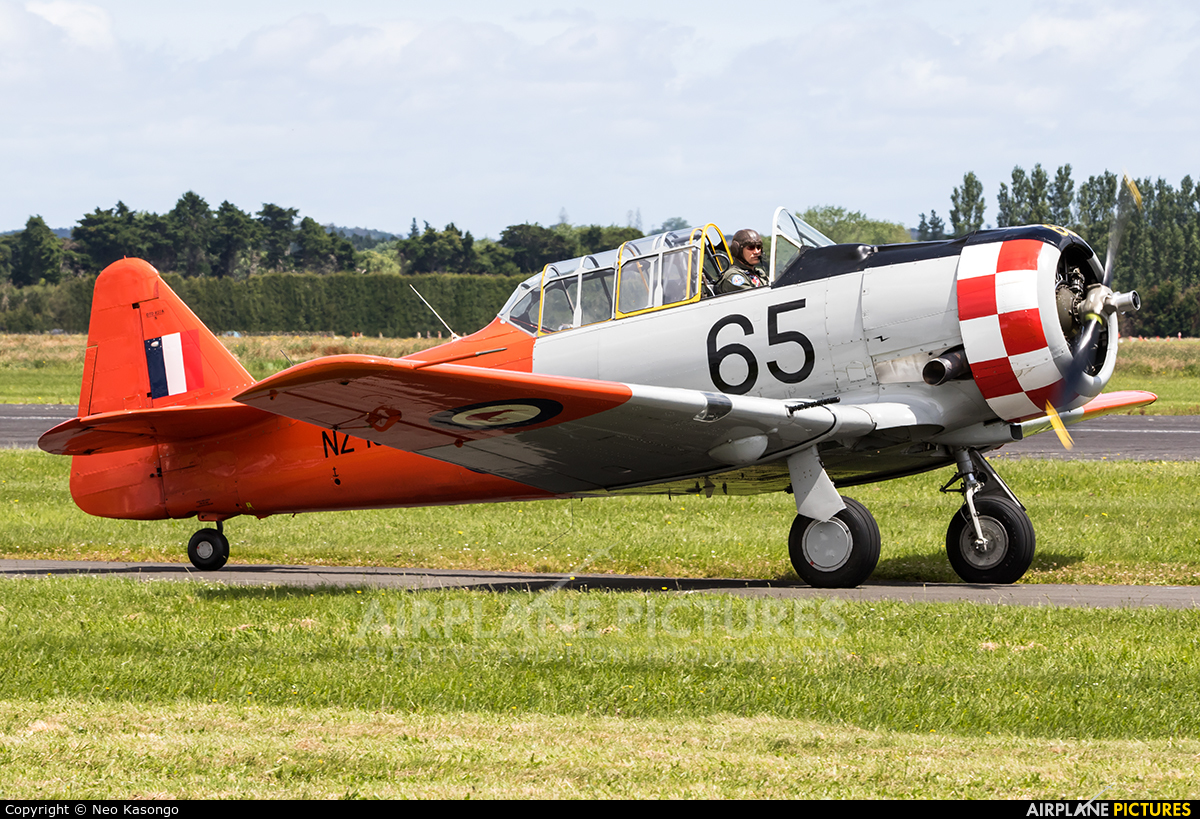 Private ZK-ENF aircraft at Ardmore