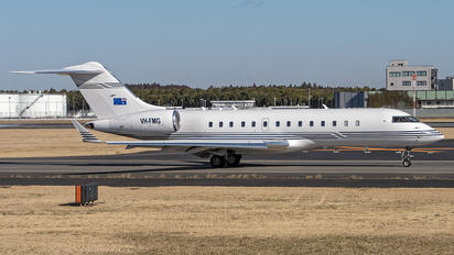 VH-FMG -  Bombardier BD-700 Global Express