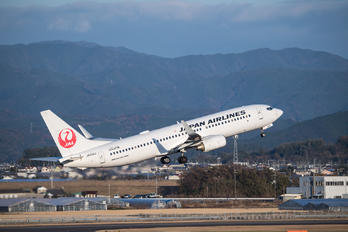 JA334J - JAL - Japan Airlines Boeing 737-800