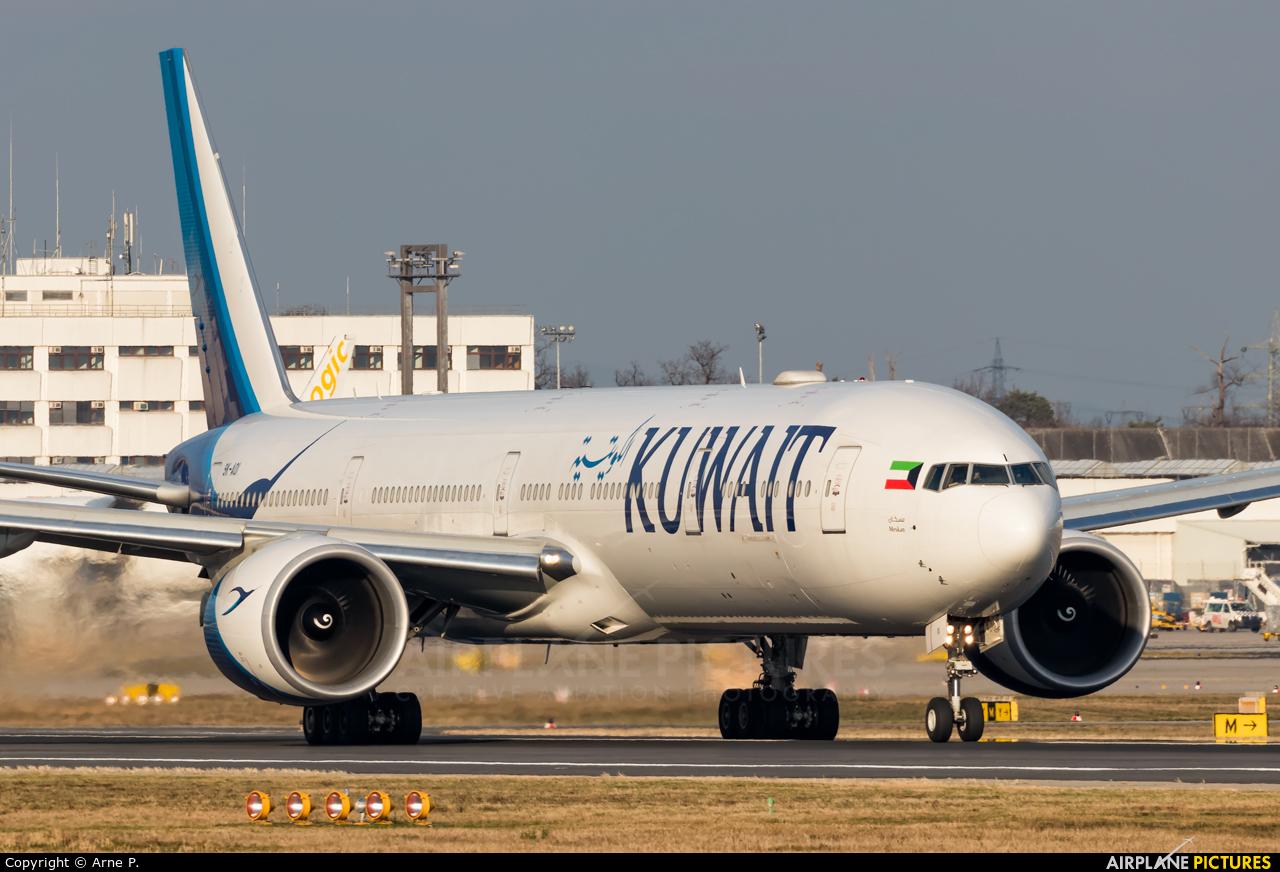 Kuwait Airways 9K-AOI aircraft at Frankfurt
