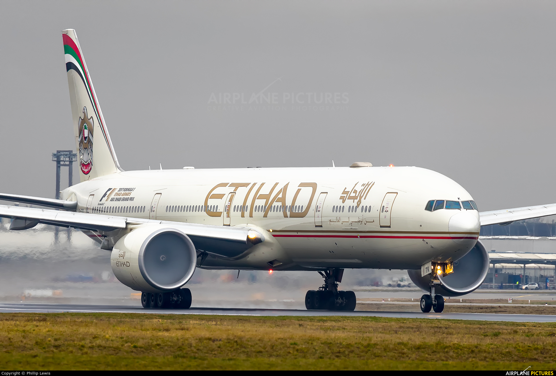 Etihad Airways A6-ETK aircraft at Frankfurt