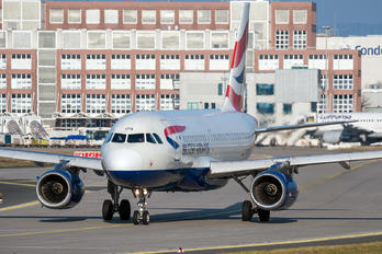 G-EUOB - British Airways Airbus A319