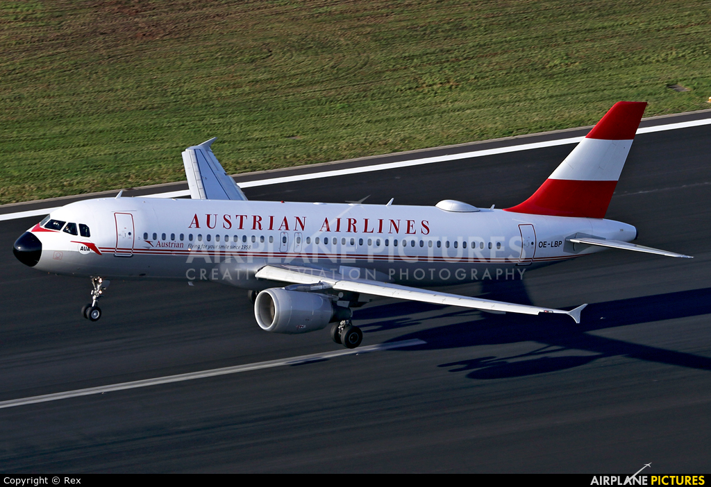 Austrian Airlines/Arrows/Tyrolean OE-LBP aircraft at Cologne Bonn - Konrad Adenauer