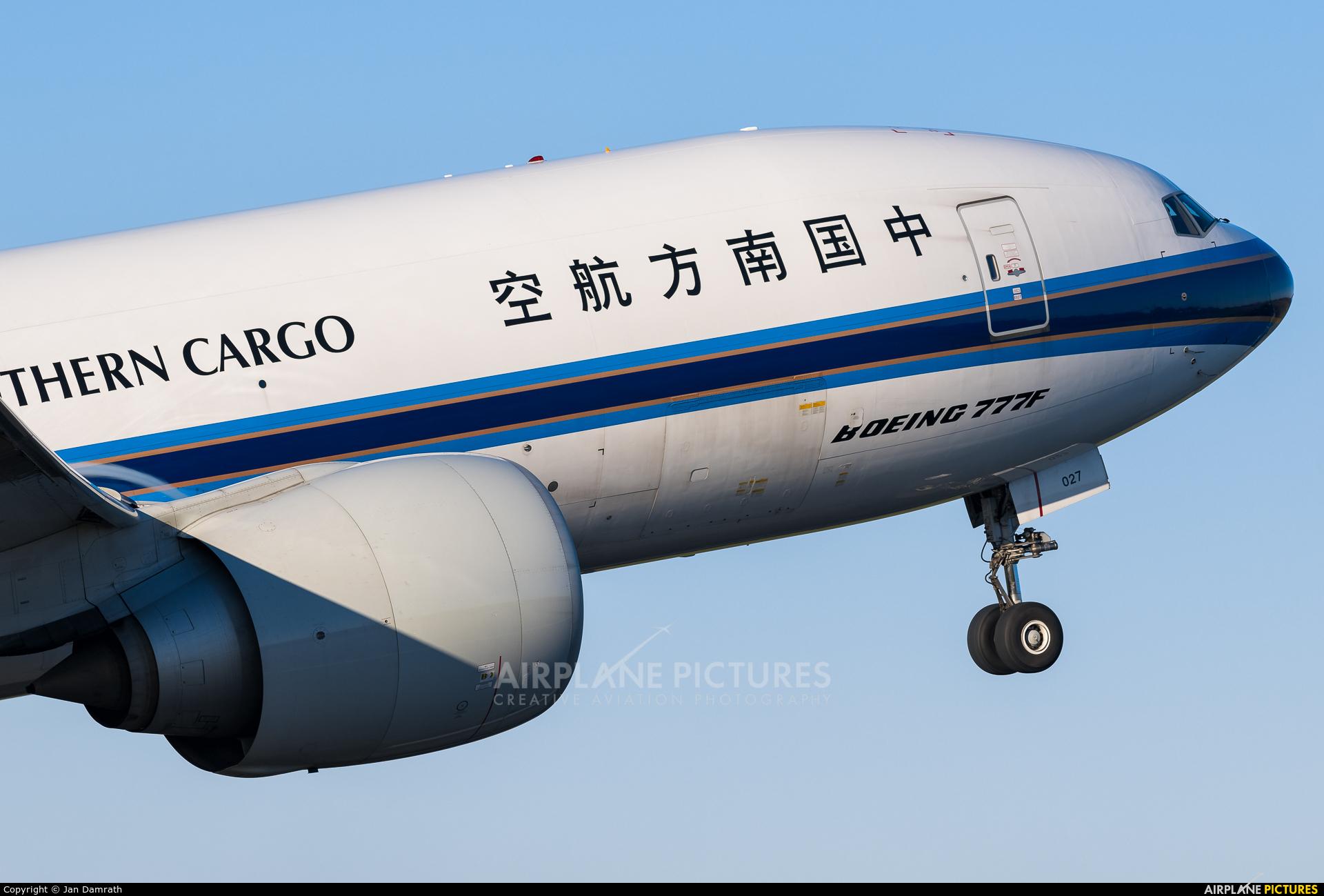 China Southern Cargo B-2027 aircraft at Amsterdam - Schiphol