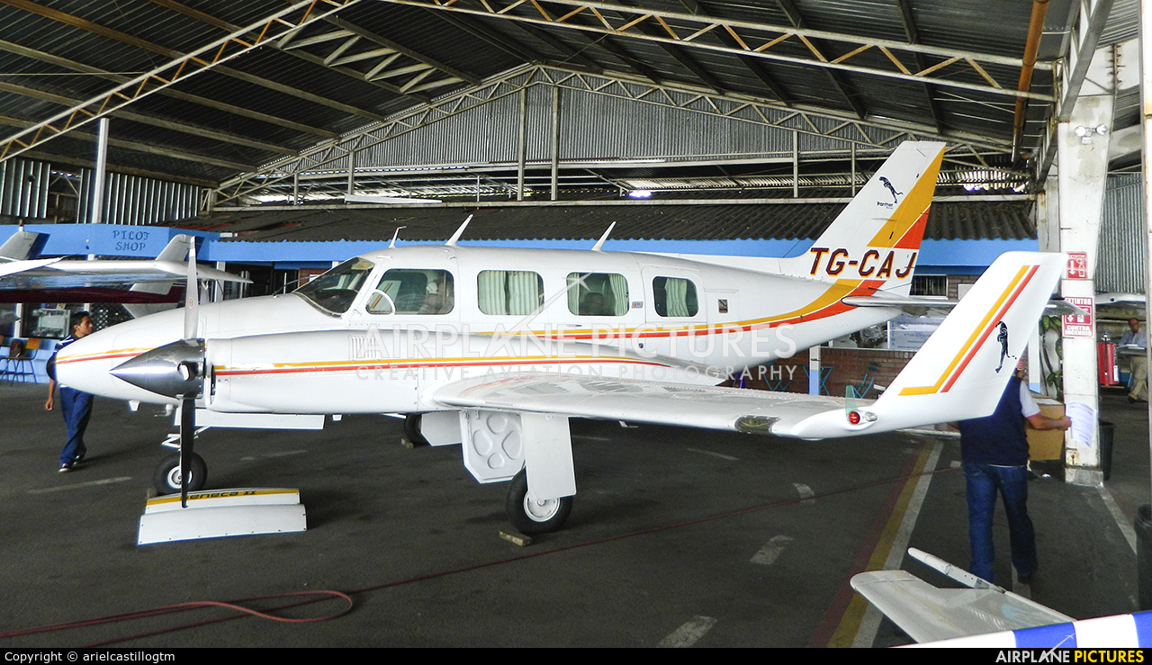 Private TG-CAJ aircraft at Guatemala - La Aurora