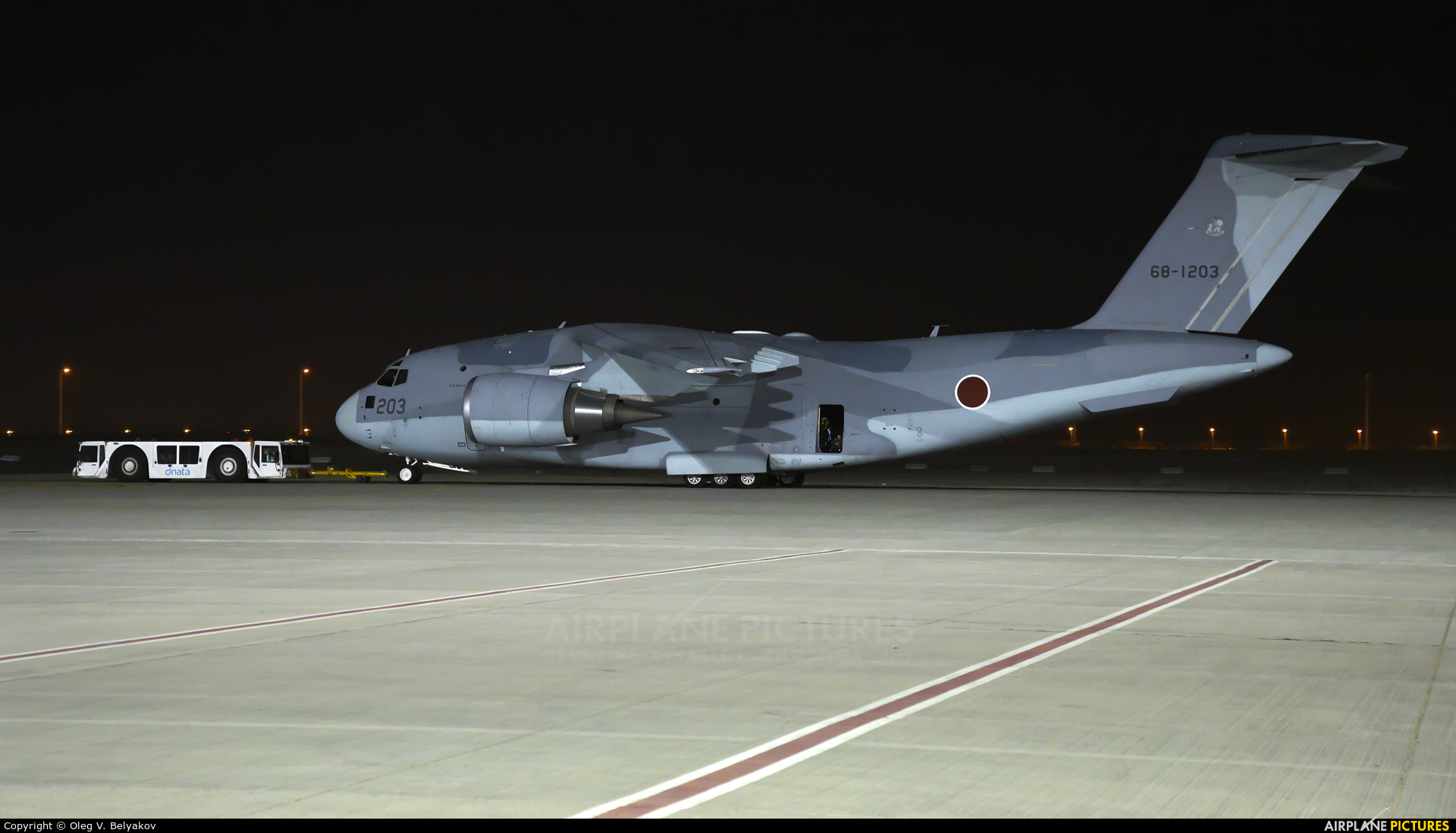 Japan - Air Self Defence Force 68-1203 aircraft at Jebel Ali Al Maktoum Intl