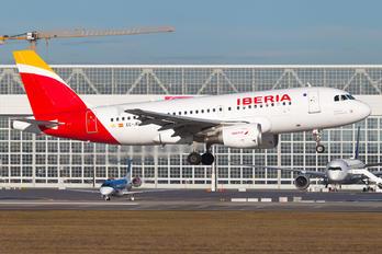 EC-JEI - Iberia Airbus A319