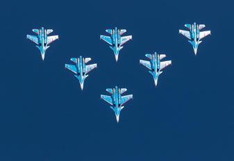 "30 - Russia - Air Force ""Russian Knights"" Sukhoi Su-30SM"