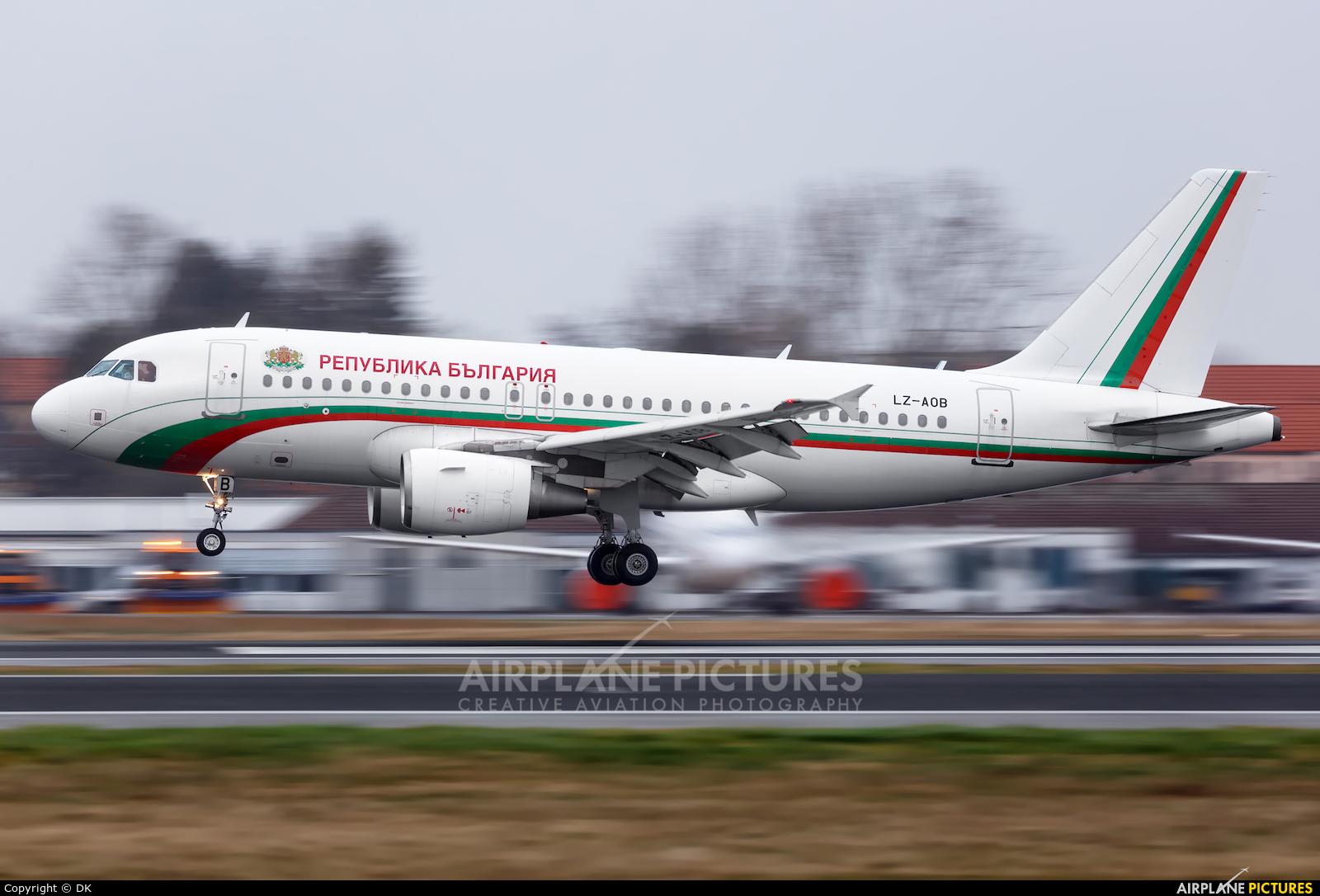 Bulgaria - Government LZ-AOB aircraft at Berlin - Tegel
