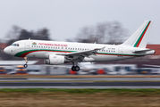 Bulgarian Government A319 visits Berlin Tegel title=