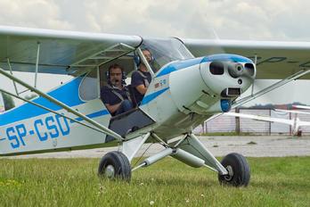 SP-CSD - Private Piper PA-18 Super Cub