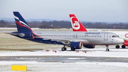 VP-BQU - Aeroflot Airbus A320