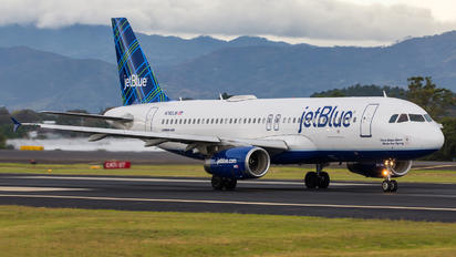 N760JB - JetBlue Airways Airbus A320