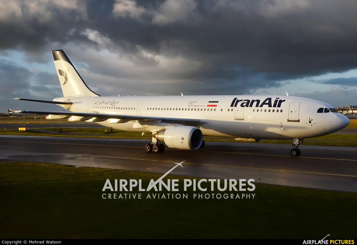 Iran Air EP-IBB aircraft at Amsterdam - Schiphol