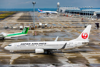 JA321J - JAL - Japan Airlines Boeing 737-800