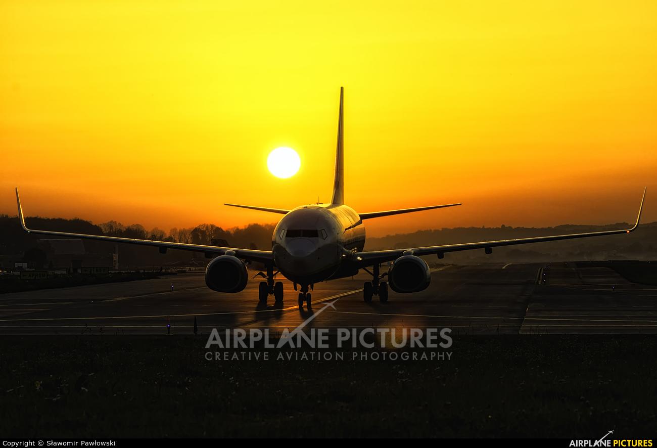 Ryanair EI-EKD aircraft at Kraków - John Paul II Intl