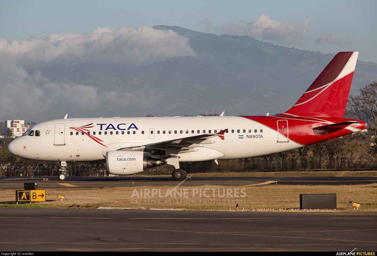 TACA N990TA aircraft at San Jose - Juan Santamaría Intl