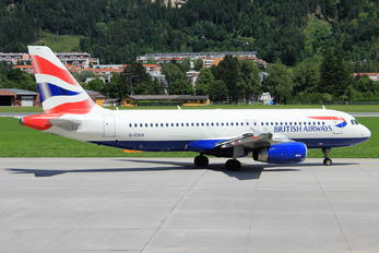 G-EUUA - British Airways Airbus A320