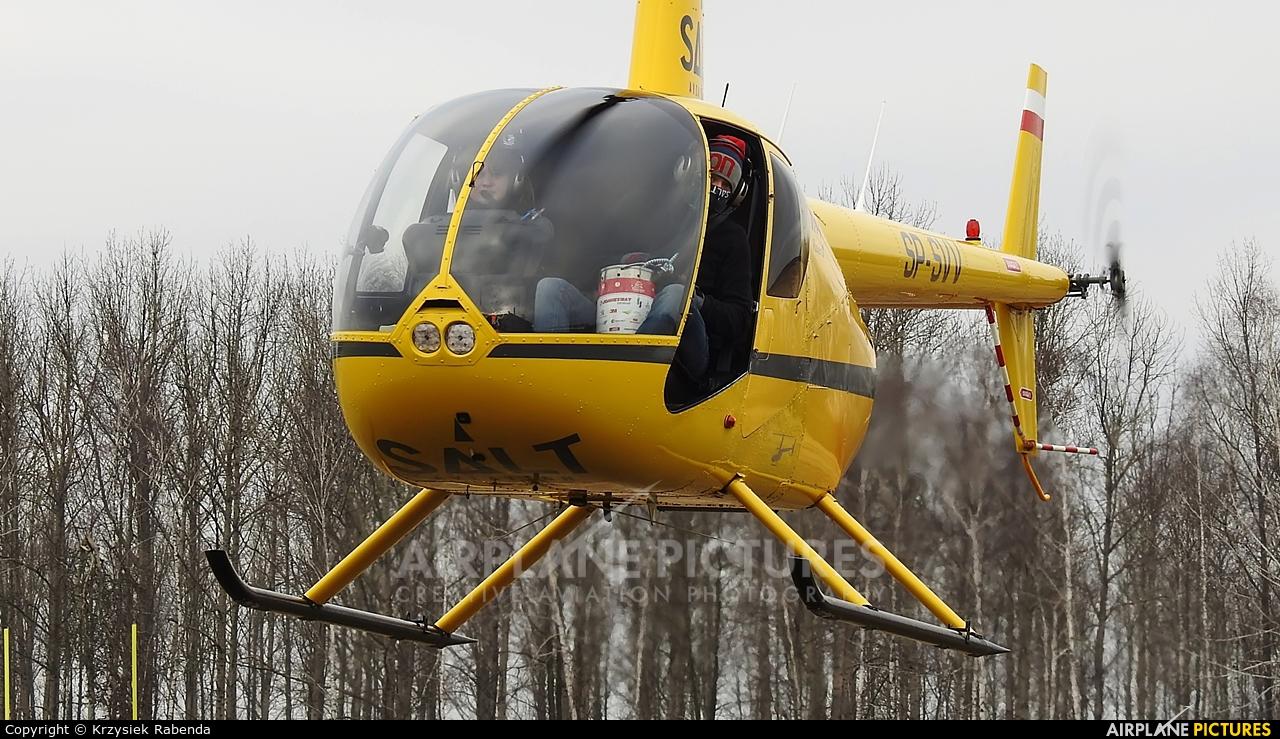 Salt Aviation SP-SVV aircraft at Czestochowa - Rudniki