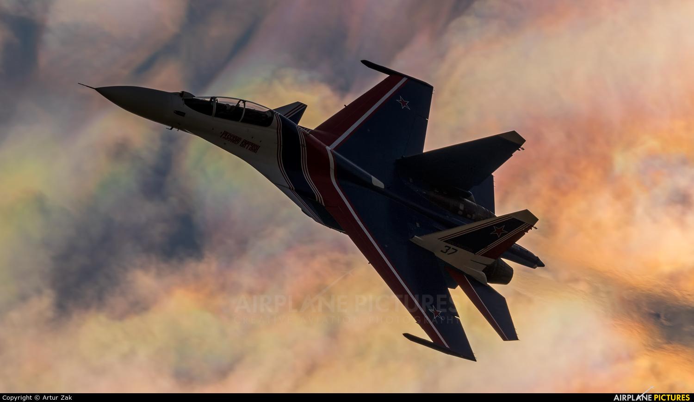 "Russia - Air Force ""Russian Knights"" 37 aircraft at Ramenskoye - Zhukovsky"
