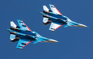 "36 - Russia - Air Force ""Russian Knights"" Sukhoi Su-30SM aircraft"