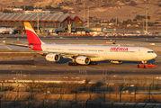 EC-IQR - Iberia Airbus A340-600 aircraft