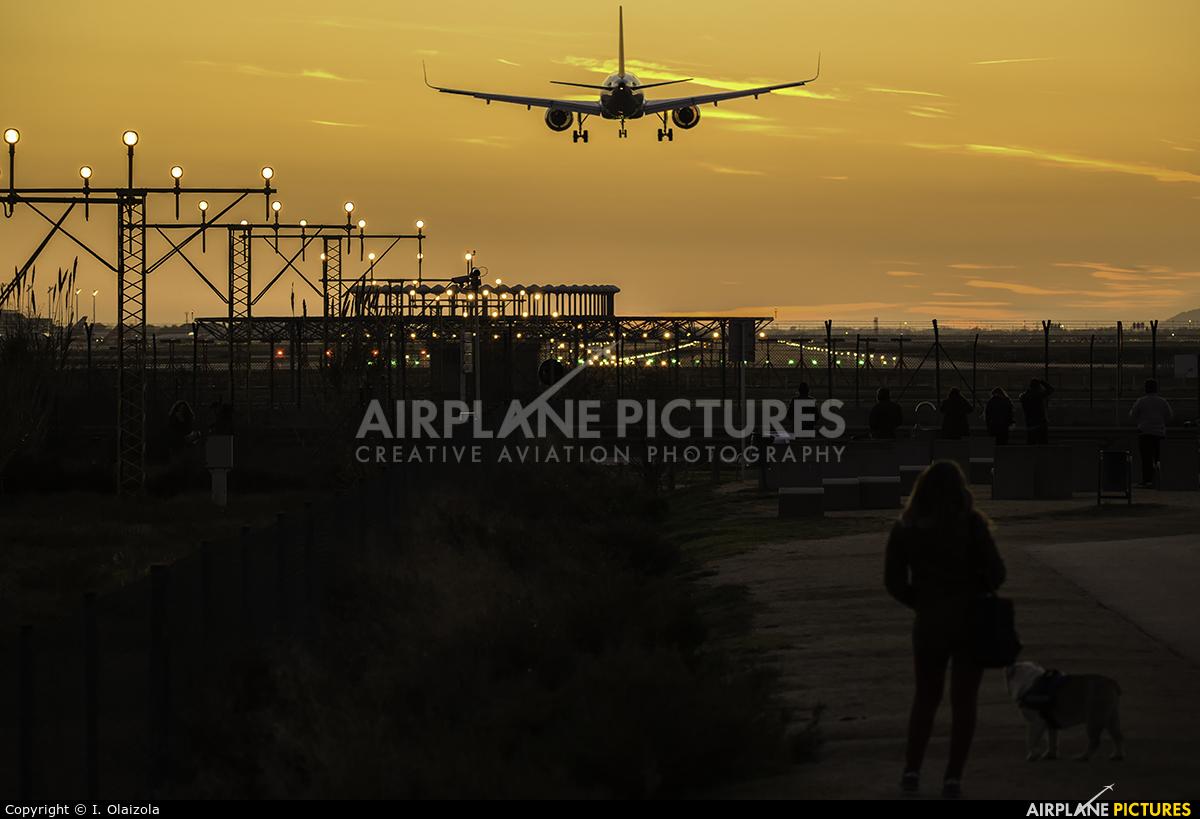 Lufthansa D-AIND aircraft at Barcelona - El Prat