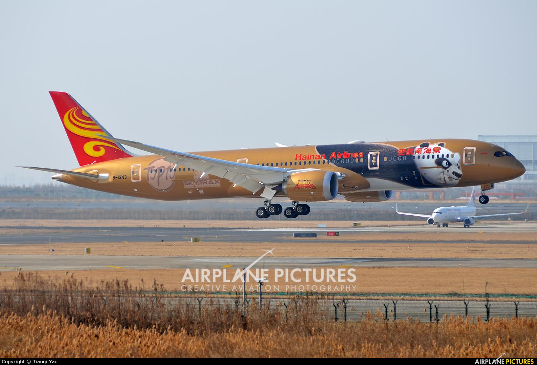 Hainan Airlines B-1343 aircraft at Shanghai - Pudong Intl