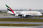 A6-EOD - Emirates Airlines Airbus A380 aircraft