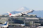 JA350J - JAL - Japan Airlines Boeing 737-800 aircraft
