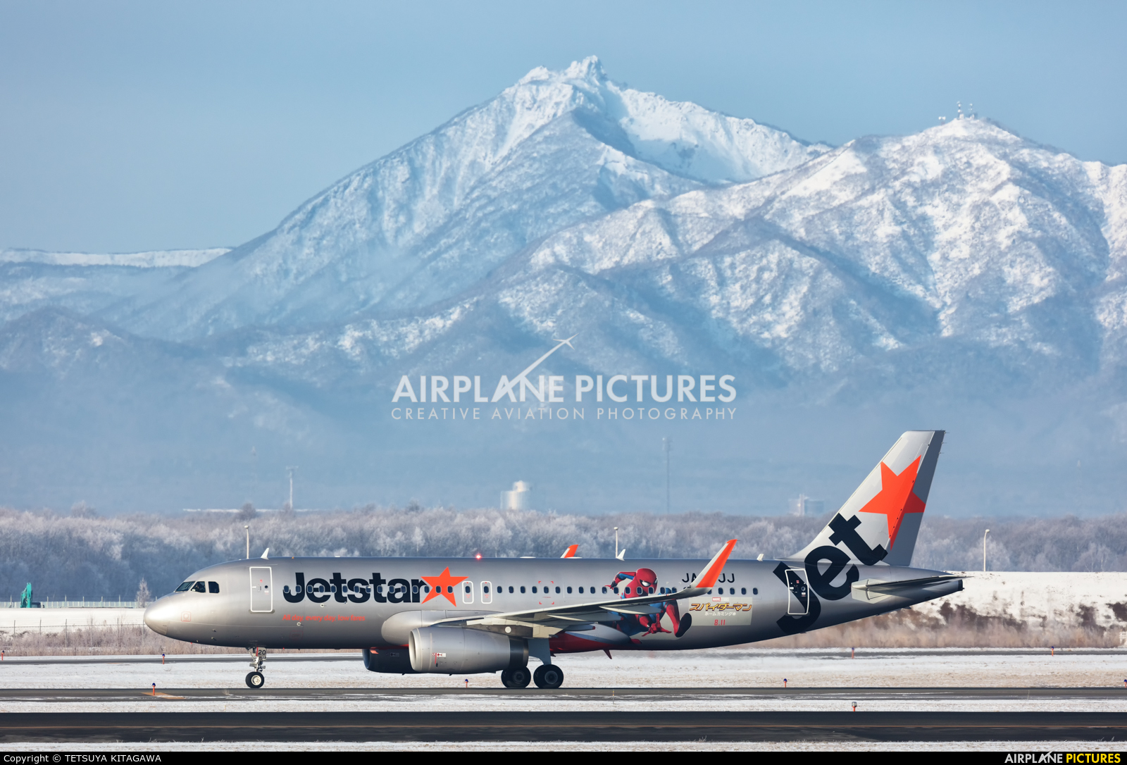 Jetstar Japan JA20JJ aircraft at New Chitose