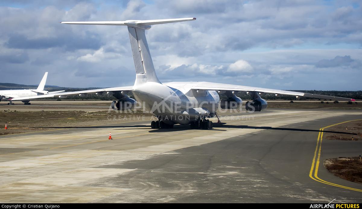 Air Almaty UP-I7601 aircraft at Punta Arenas - Presidente C.I. Del Campo Intl