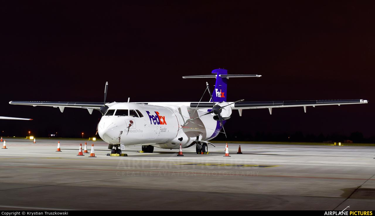 FedEx Feeder EI-FXI aircraft at Warsaw - Frederic Chopin