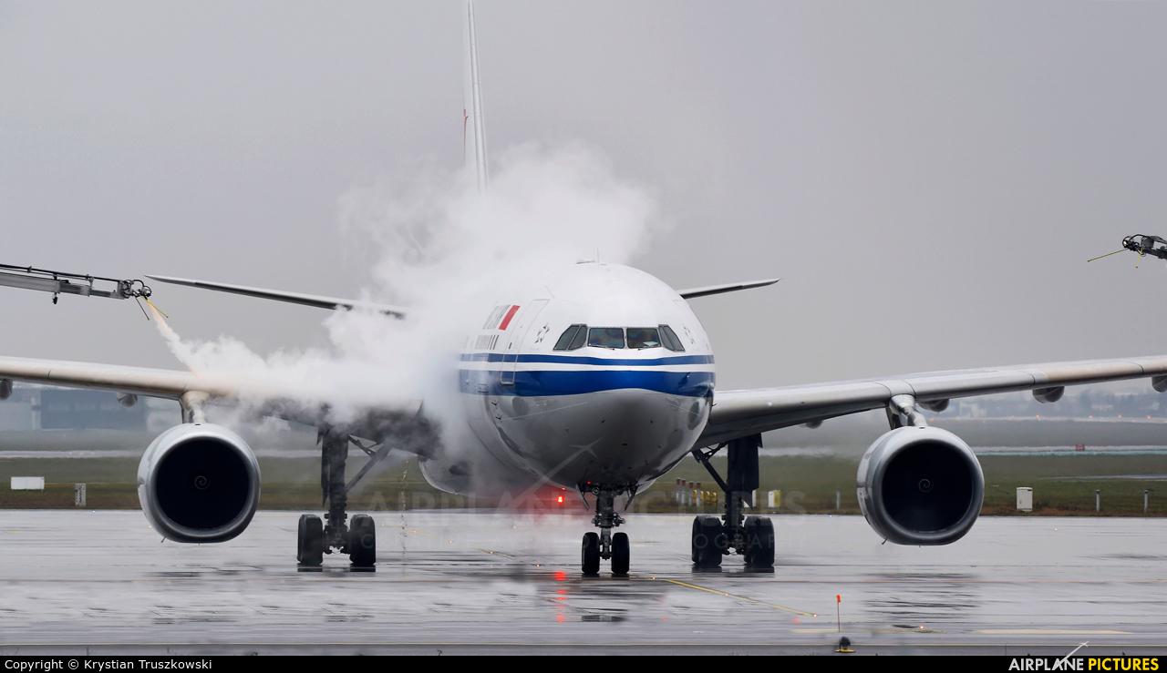Air China B-6092 aircraft at Warsaw - Frederic Chopin