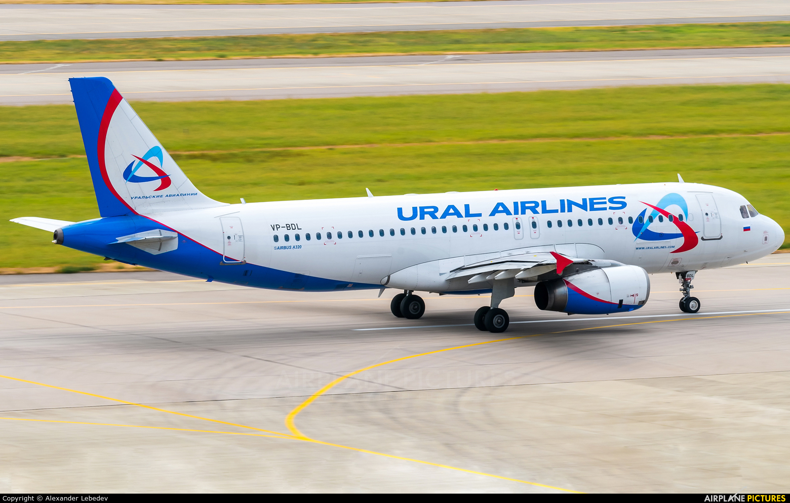 Ural Airlines VP-BDL aircraft at Sochi Intl